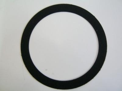 Rock-ola Auflagering für Plattenteller schwarz Samt