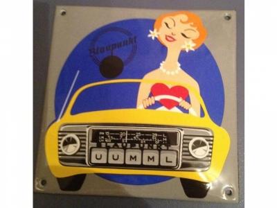 BLAUPUNKT RADIO 10 x 14 cm