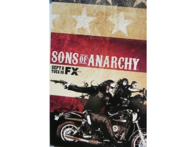 Sons of Anarchy Masterdruck 28X43cm