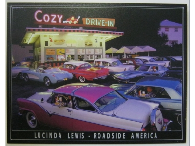 Cozy Drive in  Blechschild 41X32cm