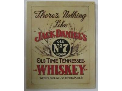 Jack Daniel's Whiskey   Blechschild 32X41cm