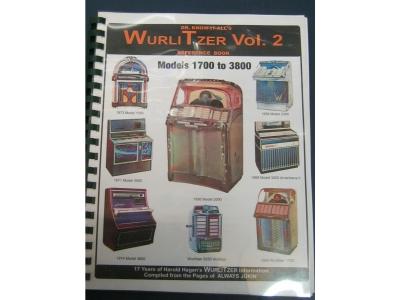 Wurlitzer Reference Book Vol. 2 1954 W1700-1974 Models