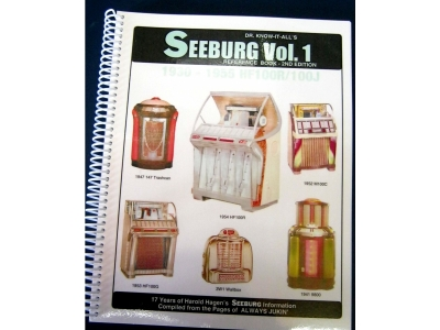 Seeburg Reference Book Vol. 1 1930's models through 1955 H..