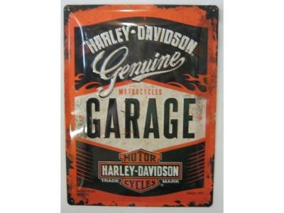 Harley-Davidson Garage  Blechschild  30x40