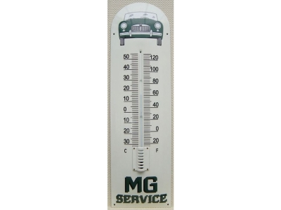 MG Auto Marke mg a Thermometer  22x75cm