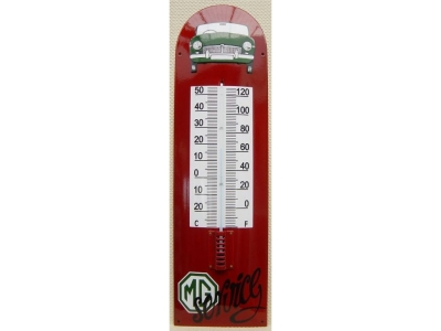 MG Auto Marke mg b Thermometer  22x75cm