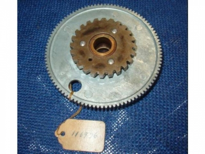 Haupt Antriebs doppel Zahnrad  116986  new old stock Parts