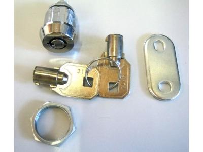 Schlösser  Geräteschlösser  Serie1000KD  Länge 15,9 mm