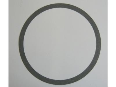 AMI Auflagering für Plattenteller geprägtes Papier grau