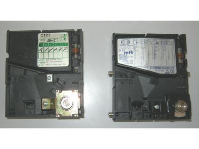 Münzprüfer NRI G13 1Fr. Occ. aber getestet Coin Control Limited C123 grösse 10X9 cm