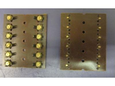Klemmleiste Löten/Schrauben 20X(L76mm B60mm Sockel)Lötösen..