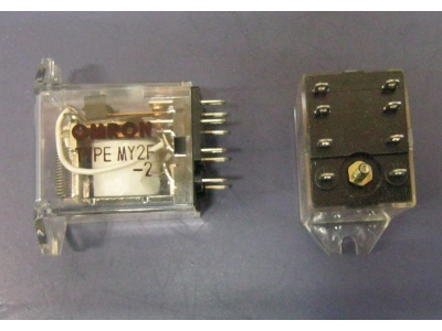 Relay OMRON Typ. MY2F-2  Betriebs Relays 24V AC