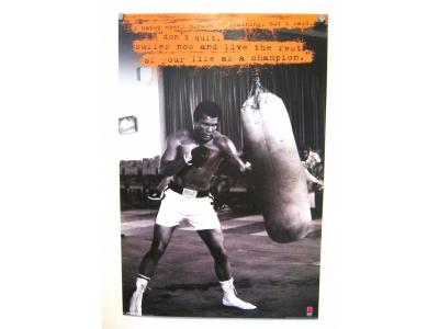 Poster Muhammad Ali Größe 61 x 91 cm