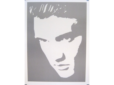 Kunstdruck Elvis Presley Photo Negative Effect Grösse 80X6..