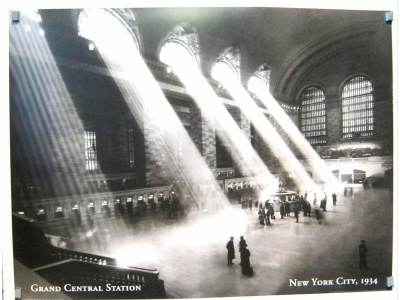 Kunstdruck Grand Central Station, New York City Grösse80X6..