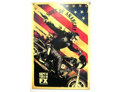 POSTER Sons of Anarchy Größe 69 X 102 cm