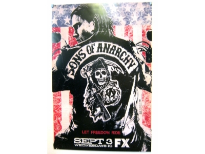 POSTER Sons of Anarchy2  Größe 69 X 102 cm