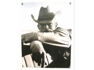 Kunstdruck James Dean am Drehort für Giganten Grösse 80X60..