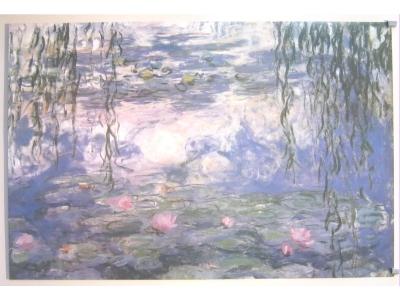 POSTER Water Lilies Monet Claude Größe 61 X 91 cm