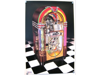 POSTER ROCK-OLA Bubbler Größe 61 X 91 cm