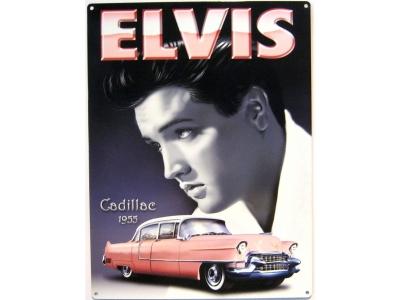 Elvis - Pink Cadillac  Blechschild  30 x 40 cm