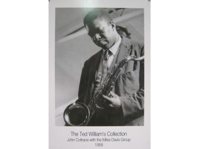 Kunstdruck John Coltrane  Grösse 28X43cm