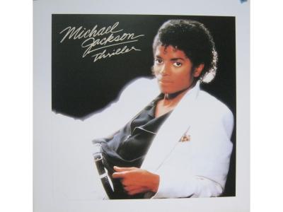 Kunstdruck Michael Jackson (Thriller)  Grösse 41X41cm
