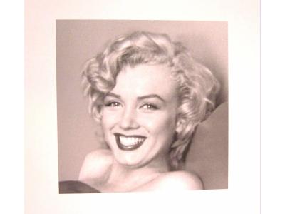 Kunstdruck MARILYN MONROE  Grösse 40X40cm
