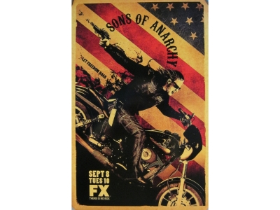 Sons of Anarchy Masterdruck2 28X43cm