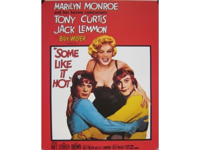 Some like it hot (1959) Marilyn Kunstdruck  28X36cm