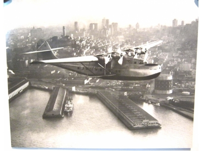 China Clipper San Francisco CA 1936 Kunstdruck  Größe 30 x..