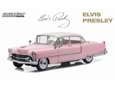 Elvis Presley's Pink Cadillac Fleetwood 1:18