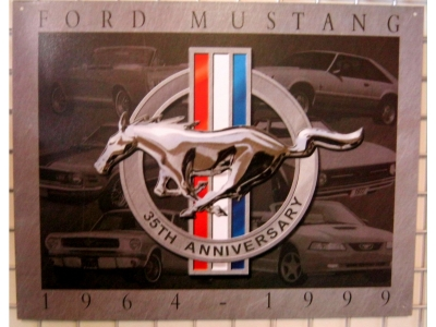 Ford Mustang 35th Anniversary 41 x 32cm
