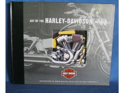 ART OF THE Harley-DAVIDSON MOTORCYCLE Geschichte Specifica..