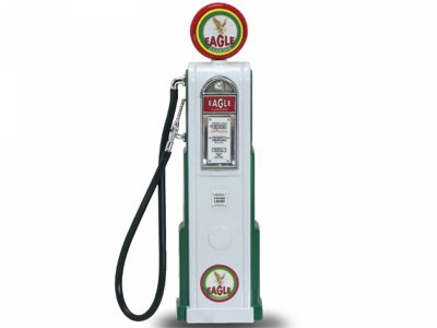 Eagle Digital Gas Pump - USA - Tanksäule 1:18