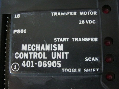 AMI MECHANISM CONTROL UNIT # 401-06905 getestet