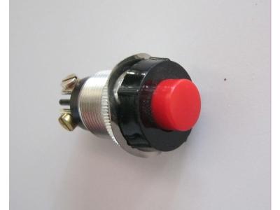 Drucktasten Druck Schalter rot gedrückt 1X ON 1X off