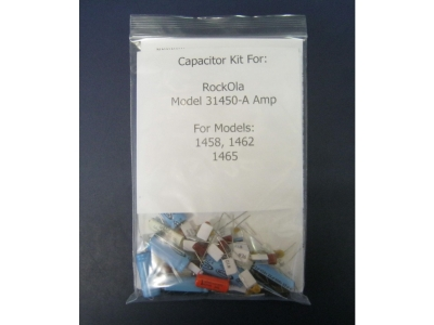 Rock-ola Capacitor kit für 31450-A AMPLIFIER for Models 14..