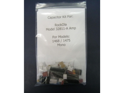 Rock-ola Capacitor kit für 32811-A AMPLIFIER for Models 14..