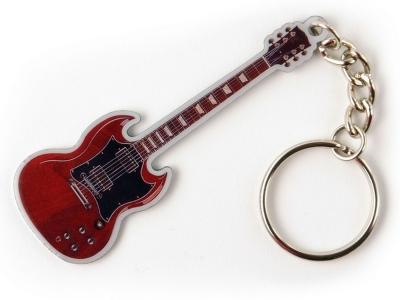 Schlüsselanhänger - SG - Rot