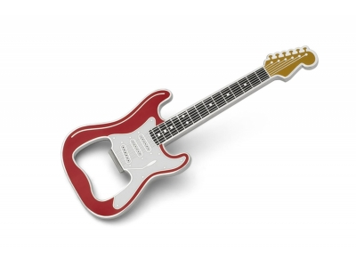 Flaschenöffner - Guitar Classic - Rot