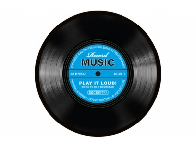 Mousepad - Record Music-Blau