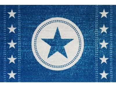 Mat 40 x 60 cm - Star Jeans - Blue