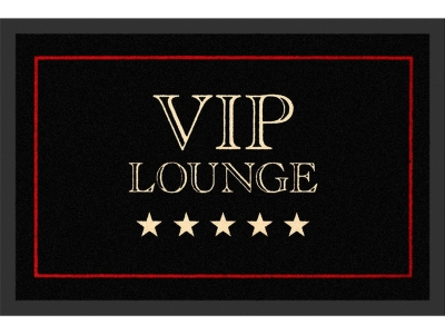Doormat 40 x 60 cm - VIP Lounge - Black