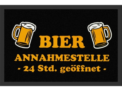 Doormat 40 x 60 cm - beer reception