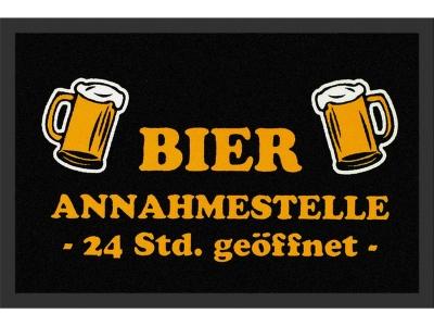 Fußmatte 40 x 60 cm - Bier Annahmestelle