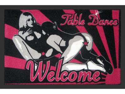 Doormat 40 x 60 cm - Table Dance - Women