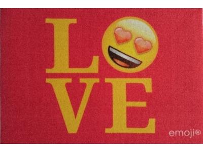 Mat 40 x 60 cm - emoji - Love - SALE