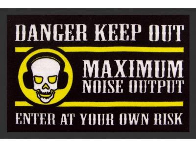 Mat 40 x 60 cm - Danger Keep Out