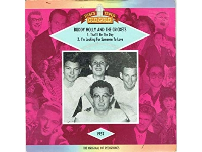 Holly Buddy And The Crickets - That'll Be The Day - I'm Looking For Someone To Love - Si/MH/N